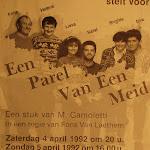 1992 - Een parel van een meid