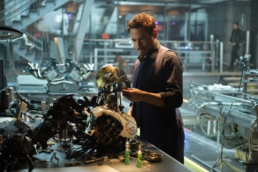 Marvel's Avengers: Age Of Ultron..Iron Man/Tony Stark (Robert Downey Jr.) ..Ph: Jay Maidment..©Marvel 2015