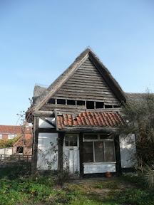 The old Fish Shed at Thorpeness