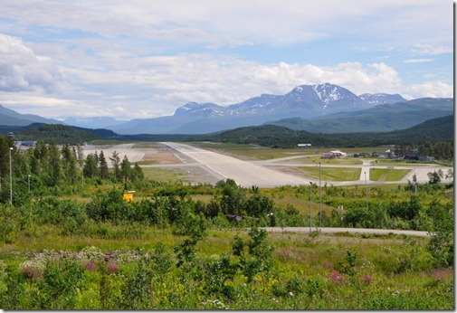 9 piste d'aviation qui dessert Narvik