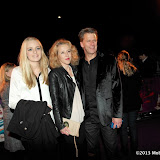 WWW.ENTSIMAGES.COM - Georgina Castle, Andrew Castle and Sophia Castle  arriving  at  Cirque Du Soleil: Kooza VIP Royal Albert Hall London January 8th 2013                                                       Photo Mobis Photos/OIC 0203 174 1069