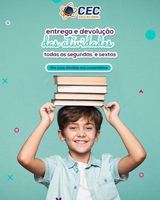CEC EDUCACIONAL reforça importância das atividades pedagógicas nesta reta final de ano letivo