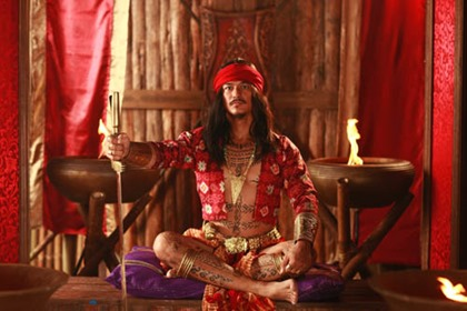 A Datu or Rajah character from the Amaya TV series