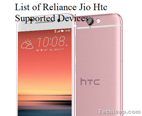 Reliance Jio Htc Supported Devices