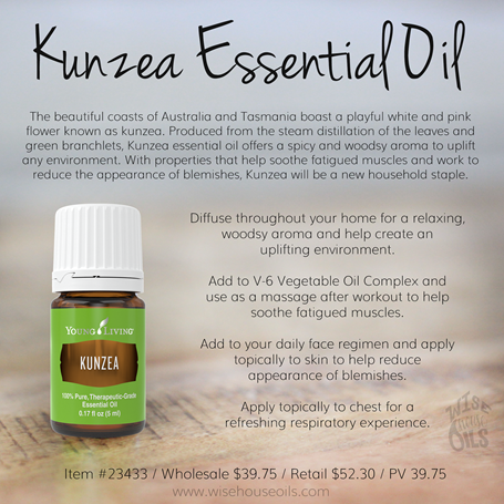 Kunzea Essential Oil Convention 2018 WHO