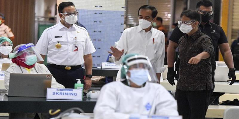 Survei Median: Netizen Lebih Puas Penanganan Covid Pemprov Dibanding Pemerintah Pusat