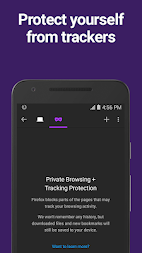 Firefox Browser fast & private APK screenshot thumbnail 2
