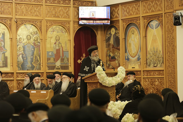 His Holiness Pope Tawadros II visit to St. Mark LA - _09A9208.JPG
