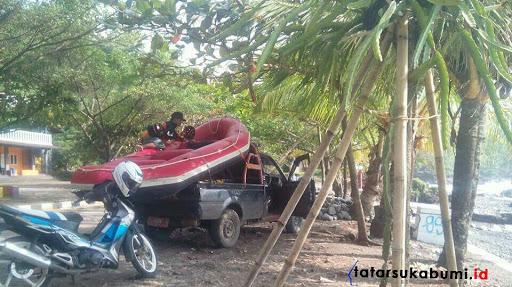 Siswa SMP Bogor Tenggelam di Pantai Palabuhanratu Sukabumi