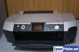 Reset Epson PM-D800 lazer printer by program