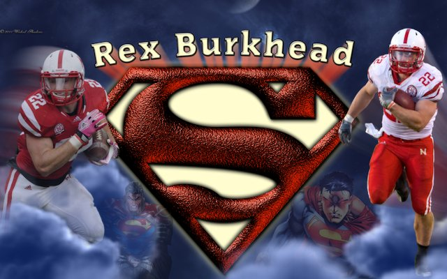Rex Burkhead Superman Wallpaper
