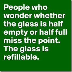 glass half full-empty