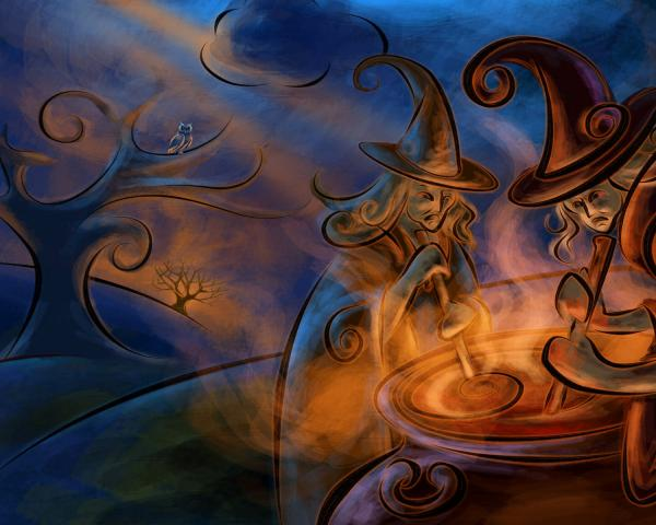 Nature Of Charming Witch, Witchcraft