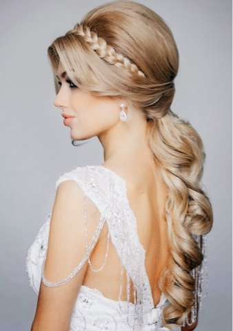 Magnificent All Hair Makeover Your Bridal Shower Hair Ideas Have Been Found Hairstyles For Men Maxibearus