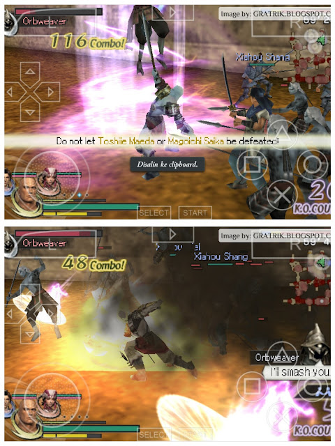 Warriors Orochi 2 PSP Game Review on Android
