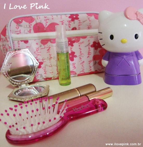 Escova cor de rosa