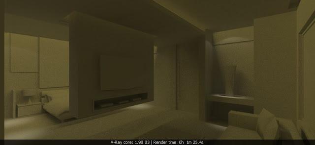 vray - renderภาพใน vray ของโมเดลเดียวกัน แต่ใน view ต่างกัน ทำไมobject บางชิ้นมันหายไปครับ  Suexpold01
