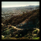 I love being able to see the Pacific Ocean from Runyon on a clear day.
