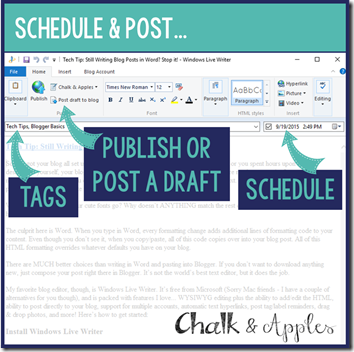 4- Publishing Options
