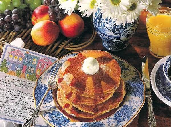 Gingersnap Pancake Mix And Gingersnap Pancakes Recipe