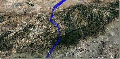 GE Passage des montagnes au nord de LA