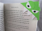 Book Monster paper bookmark