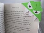 Book Monster paper bookmark