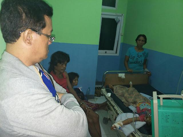 BREAKING NEWS: Sandae Jenguk Sentia Pasien Rabies