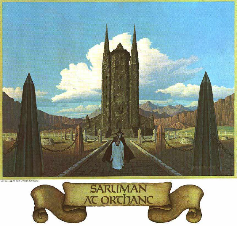 Calendar Saruman At Orthanc, Fantasy Scenes 3