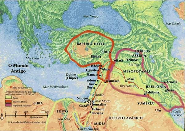 mapa do mundo antigo Mapas do Mundo Antigo   Mapas Bíblicos mapa do mundo antigo