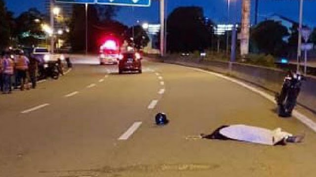 Pembonceng (25 tahun) maut, jatuh secara tiba-tiba sebelum sampai rumah
