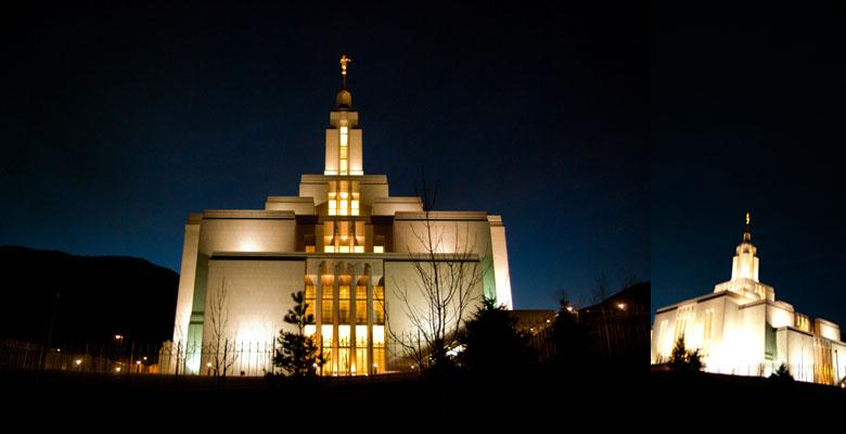 Draper Utah Temple, March 16, 2009