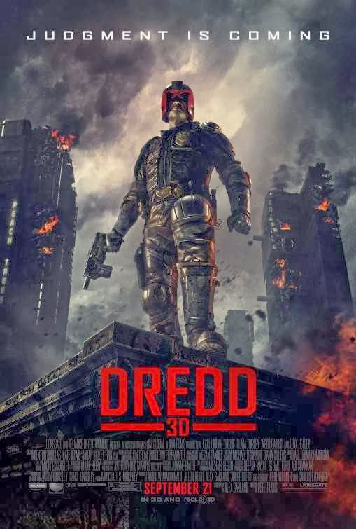 Poster Of Dredd (2012) Full Movie Hindi Dubbed Free Download Watch Online At Alldownloads4u.Com