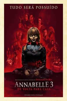 capa Annabelle 3: De Volta Para Casa