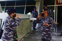Pangkalan Utama TNI AL V Terima Kunjungan Tim Staf Personel Mabesal.