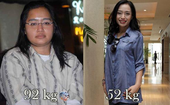 Diet ketat ala Tya Subiakto - turun 40 kg dalam 1,5 tahun