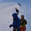 Mala kolona na putu prema vrhu