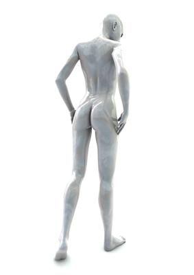 femme 3D pose artistique matiere nacre 3-01c