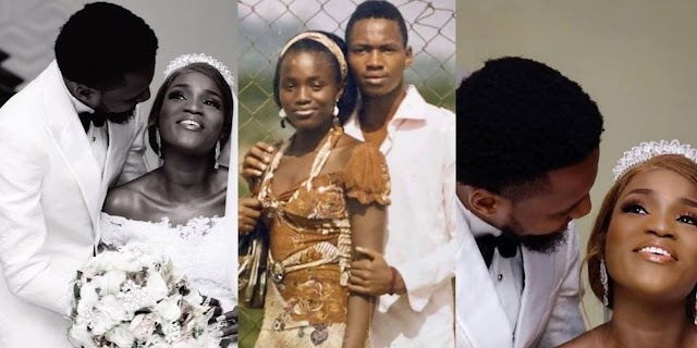 'We did the pushing of our baby together' – Actress, Bukunmi appreciates her husband on father's day
