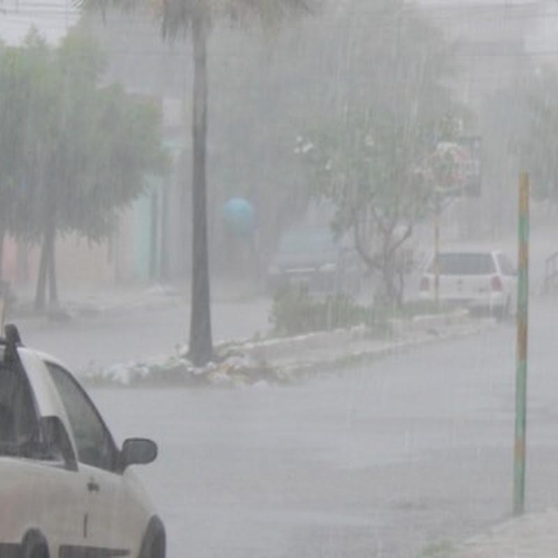 Choveu 198,2 mm durante o final de semana em Mossoró, diz EMPARN