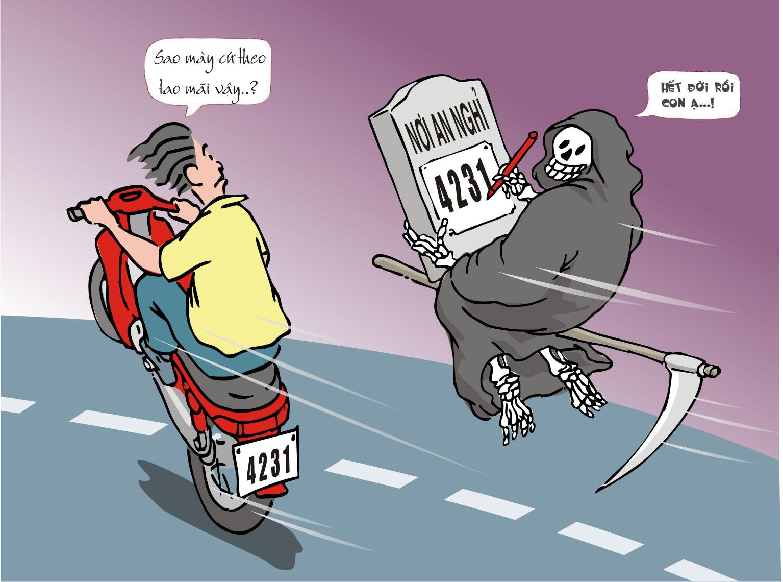 Đua xe là tệ nạn, không nên đua xe