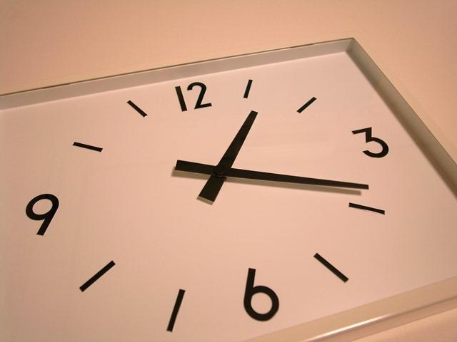 駅の時計感想無印良品