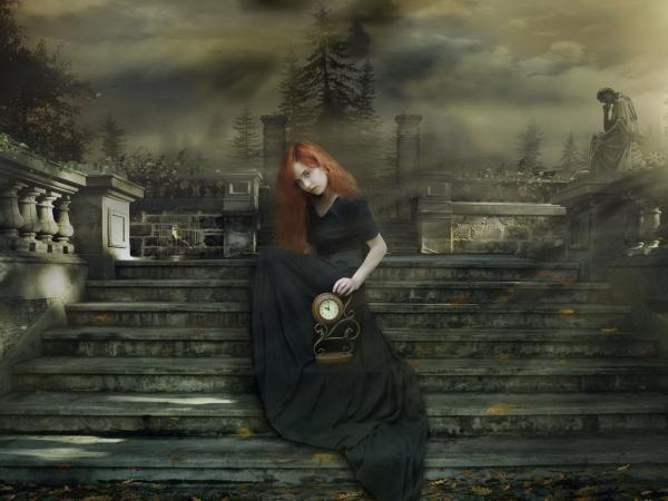 Funeral Fantasy Girl, Death
