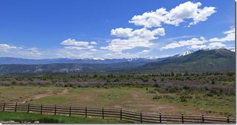 heading northeast on Colorado highway 62