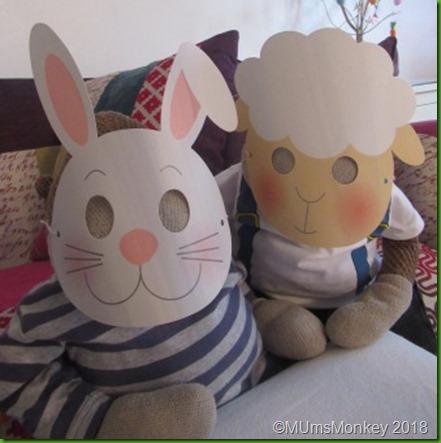 The Works Easter Masks