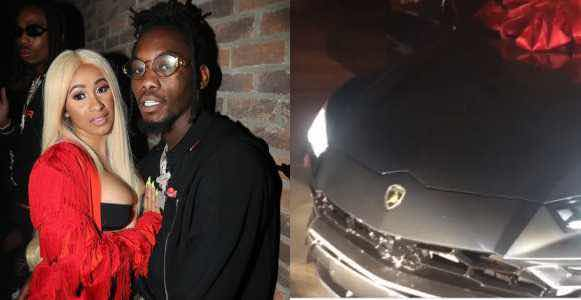 Migo's Offset Buys Wife, Cardi B $200,000 Lamborghini Urus Concept Ahead Of Her 26th Birthday (Video)