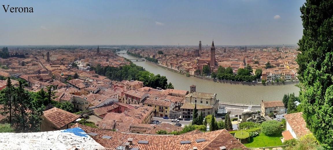 Ruta por la Toscana y norte de Italia. Verona