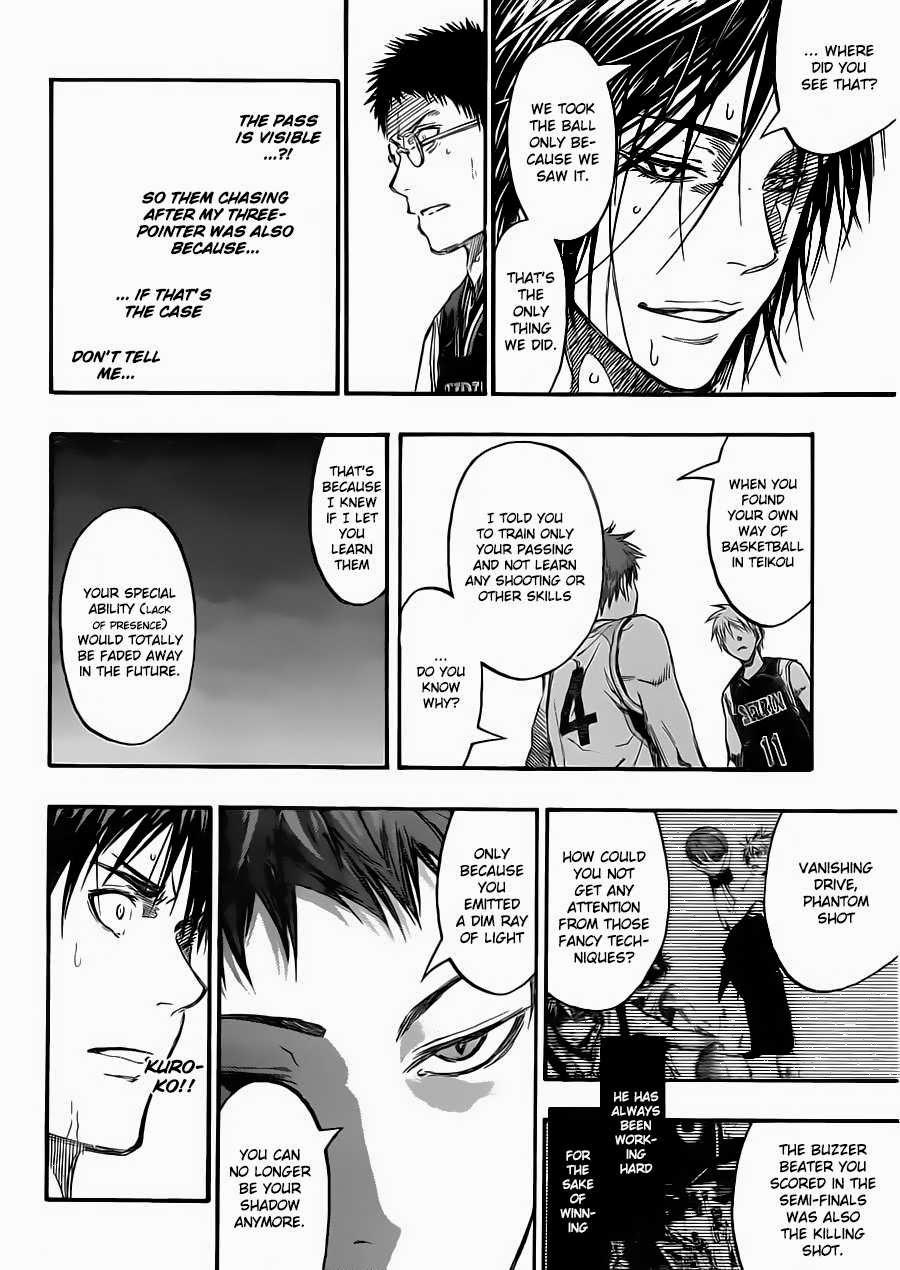 Kuroko no Basket Manga Chapter 236 - Image 17