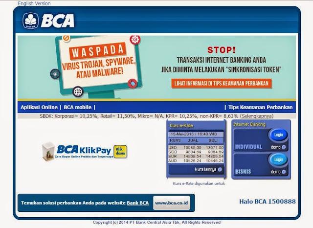 Cara pendaftaran internet banking bca Dan transaksi memakai internet banking bca  Cara pendaftaran internet banking bca Dan transaksi memakai internet banking bca