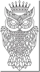 dibujos de buhod en blanco y negro (3)